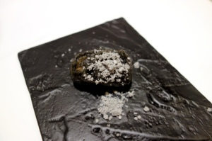 Gaggan charcoal